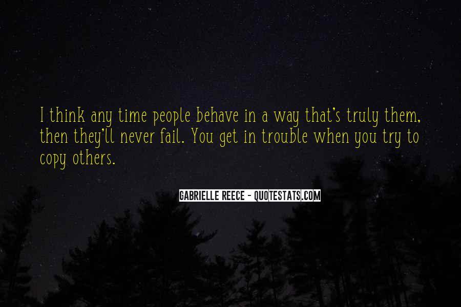 Gabrielle Reece Quotes #49427