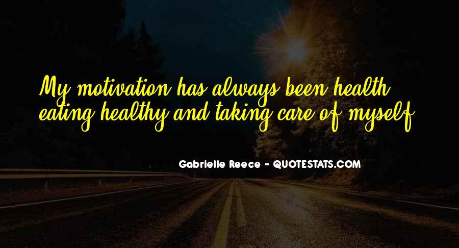 Gabrielle Reece Quotes #728047