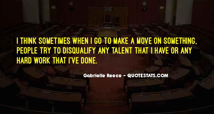 Gabrielle Reece Quotes #856977