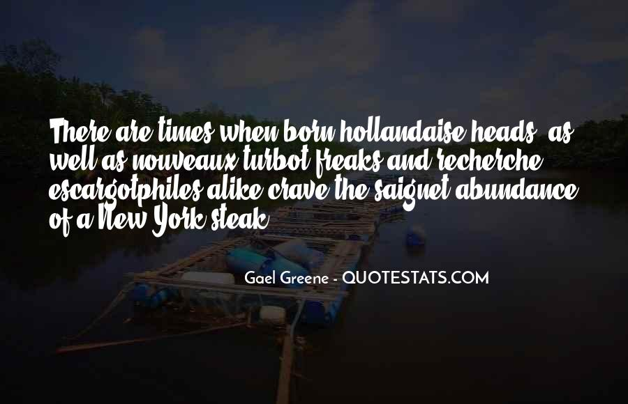Gael Greene Quotes #1767312