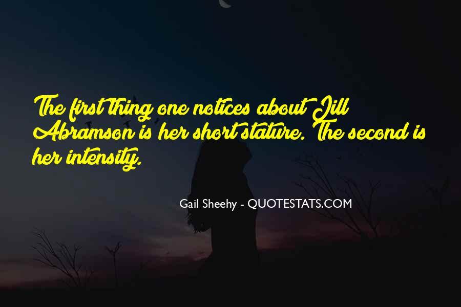 Gail Sheehy Quotes #1156735