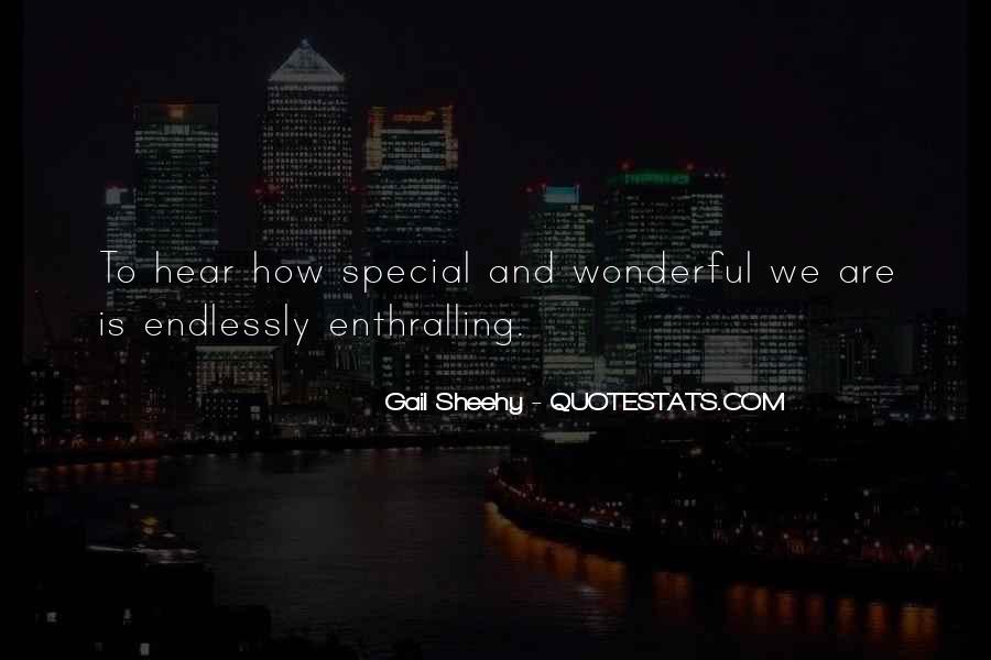 Gail Sheehy Quotes #205916