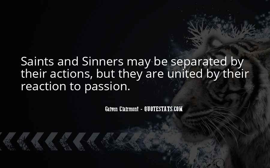 Gaiven Clairmont Quotes #1373987