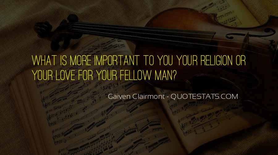 Gaiven Clairmont Quotes #1384564