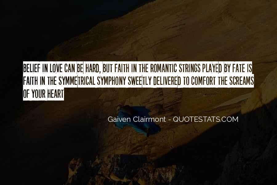 Gaiven Clairmont Quotes #950761