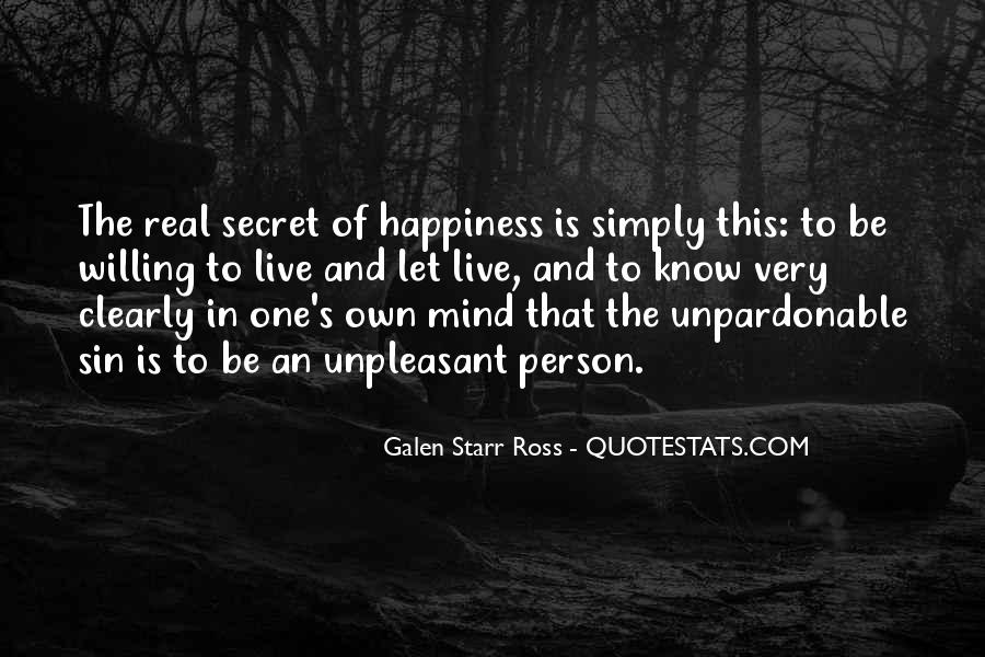 Galen Starr Ross Quotes #1437048