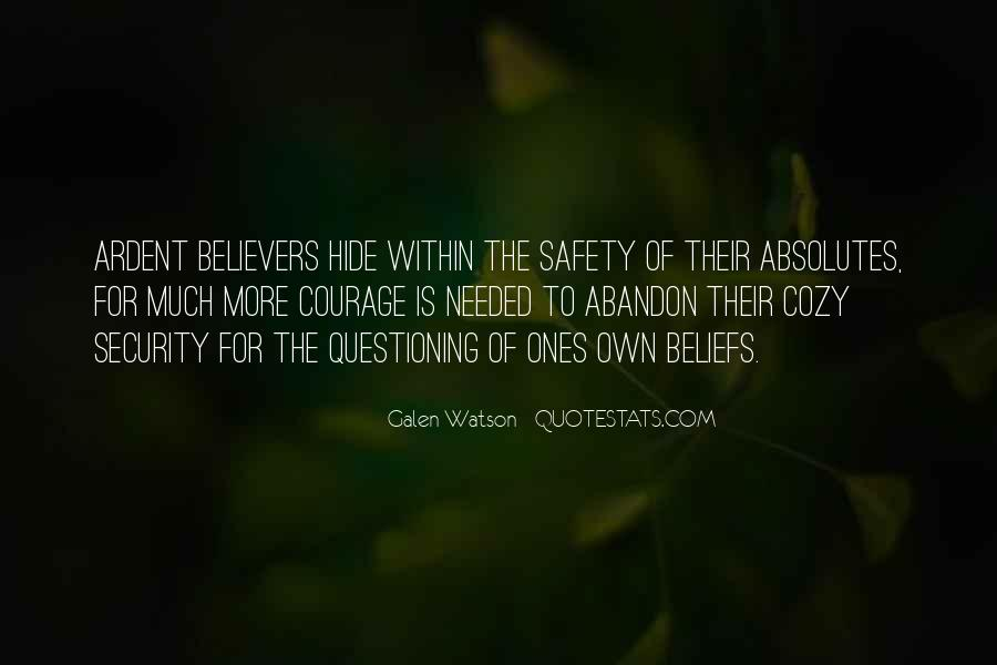 Galen Watson Quotes #495547