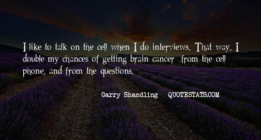 Garry Shandling Quotes #152920