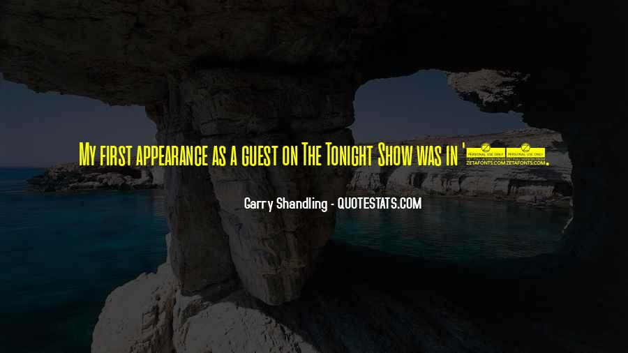 Garry Shandling Quotes #22601