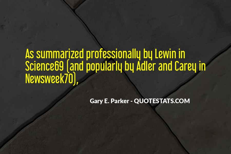Gary E. Parker Quotes #1591032