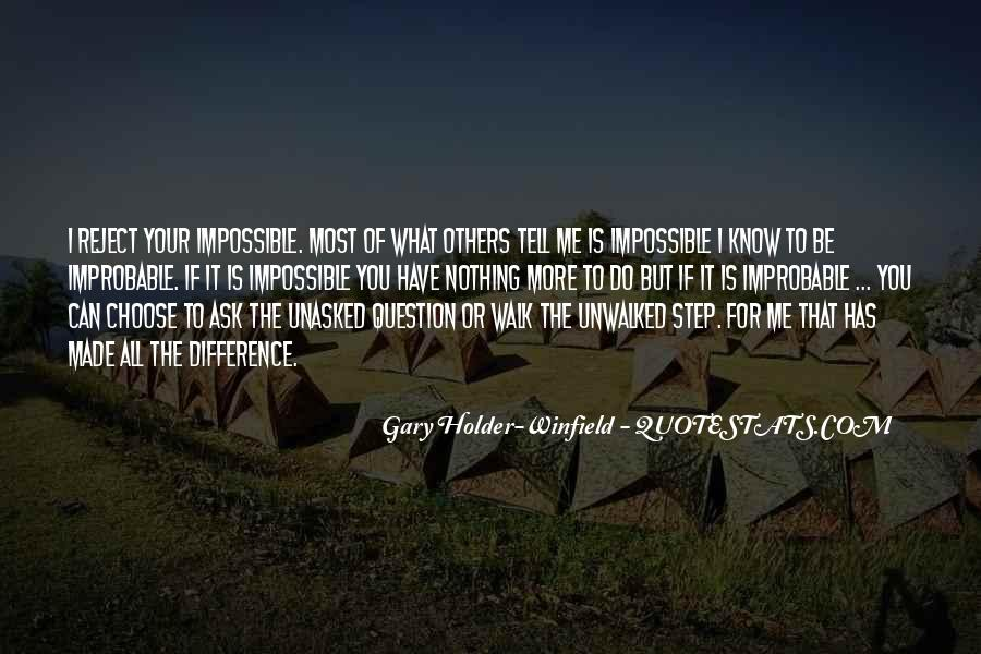 Gary Holder-Winfield Quotes #626416