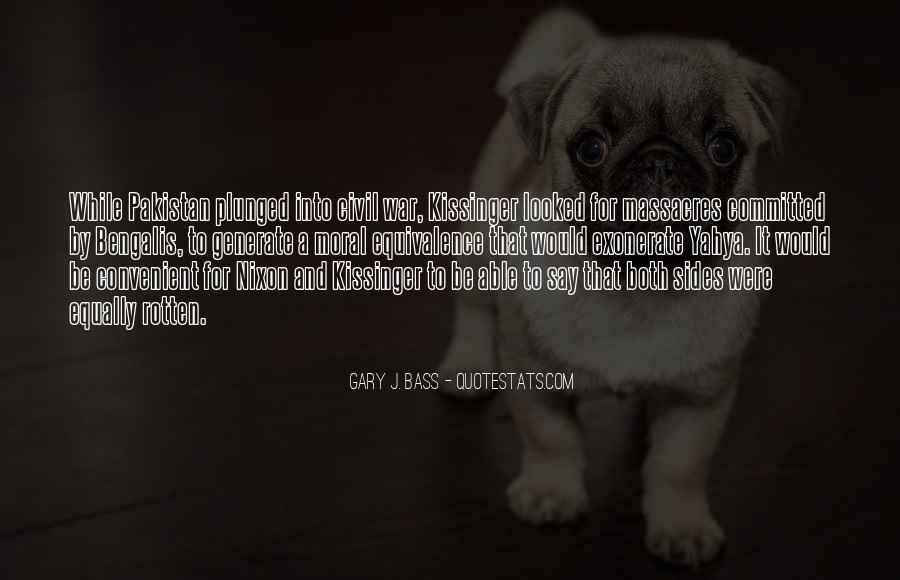 Gary J. Bass Quotes #1870894