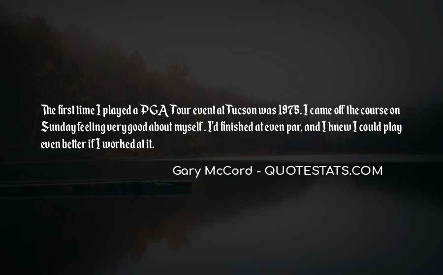 Gary McCord Quotes #1838969