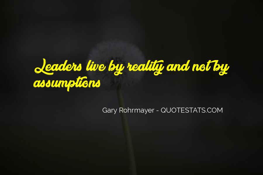 Gary Rohrmayer Quotes #409986
