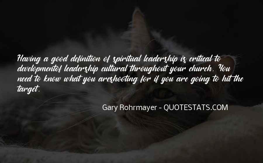 Gary Rohrmayer Quotes #77129