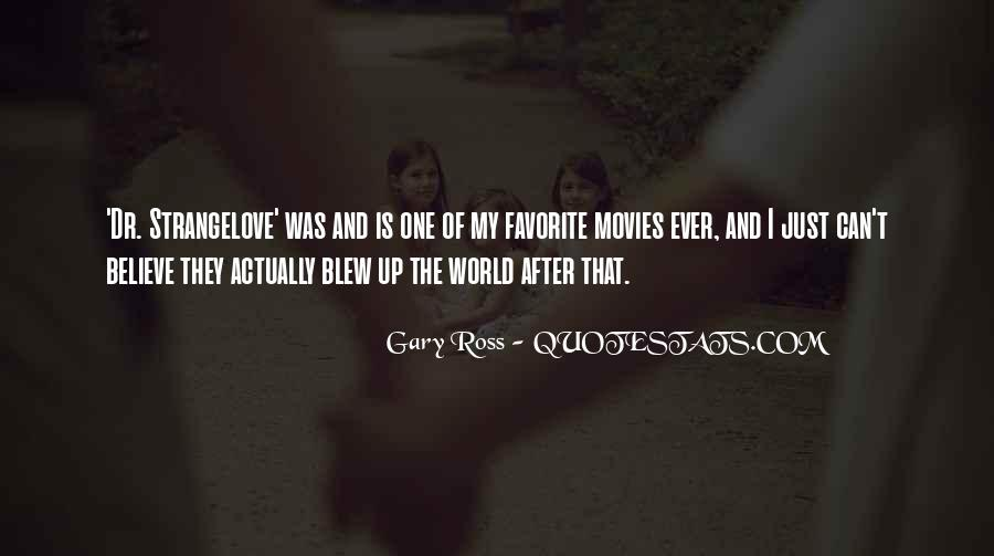 Gary Ross Quotes #384417