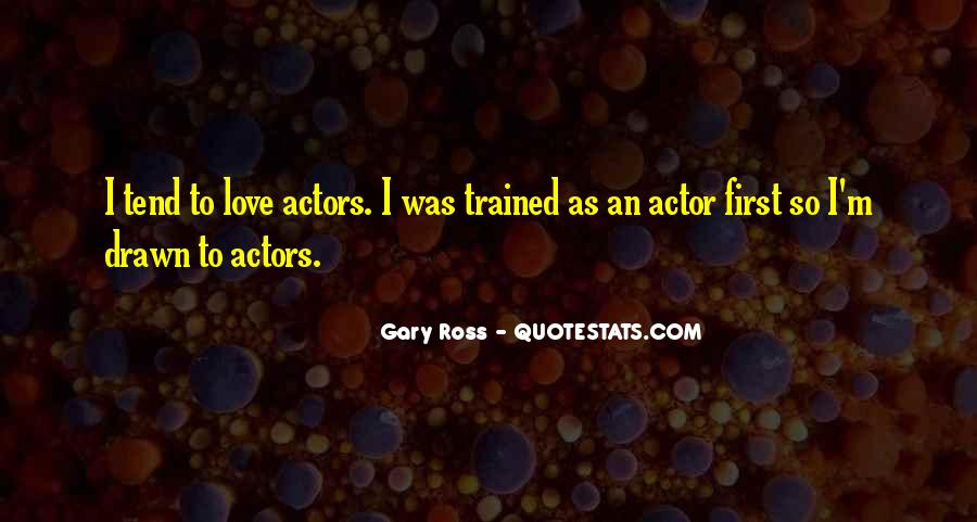 Gary Ross Quotes #562754