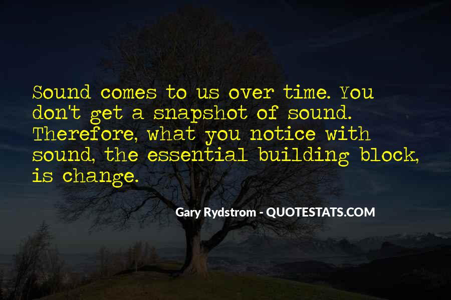Gary Rydstrom Quotes #1291298