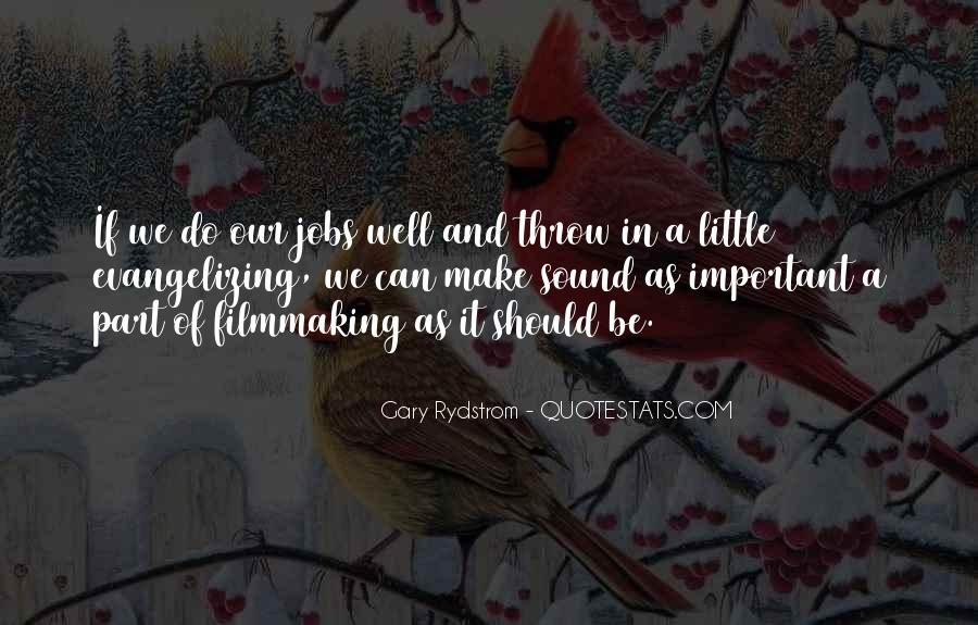 Gary Rydstrom Quotes #1573005