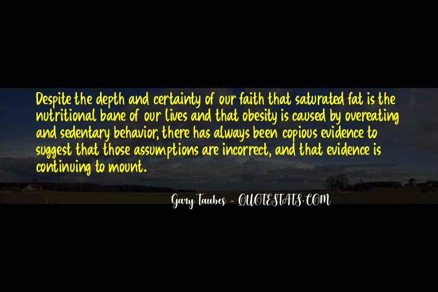 Gary Taubes Quotes #1235026