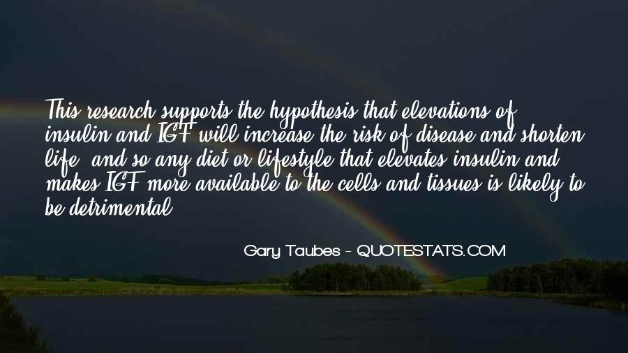 Gary Taubes Quotes #552491