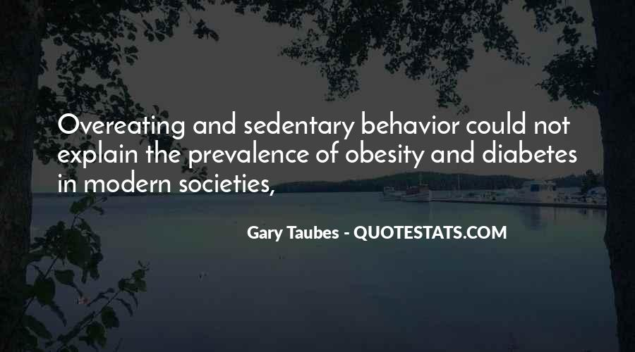 Gary Taubes Quotes #774359