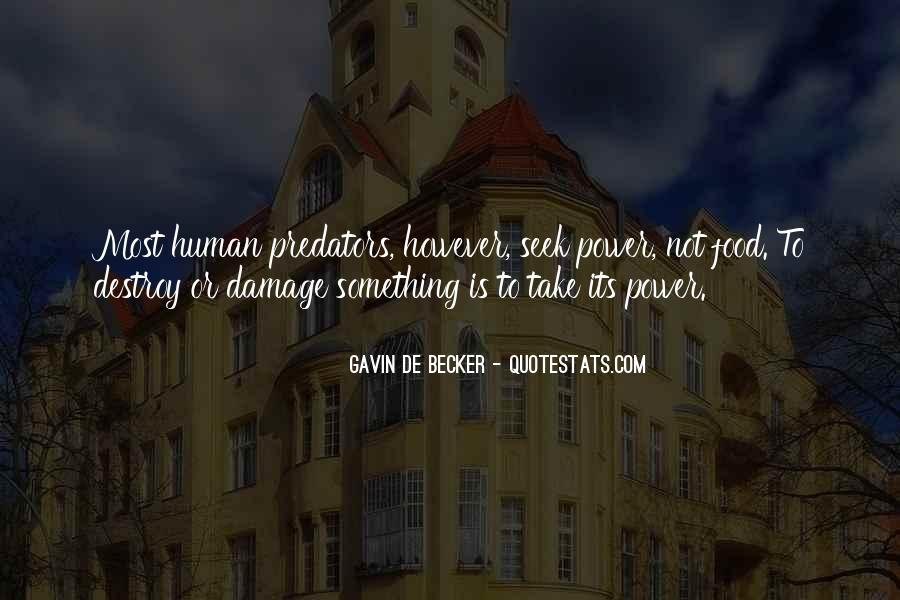 Gavin De Becker Quotes #1060667