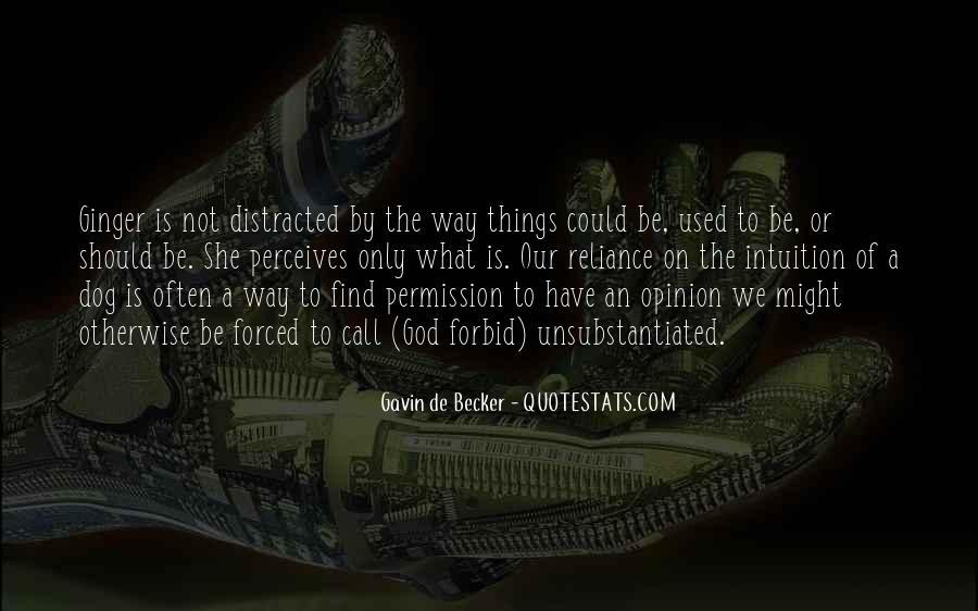Gavin De Becker Quotes #1106335