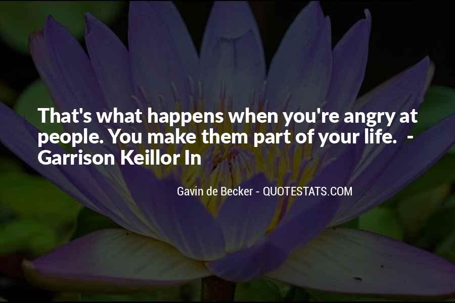 Gavin De Becker Quotes #1227777