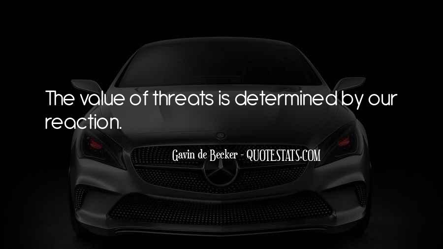 Gavin De Becker Quotes #1432411