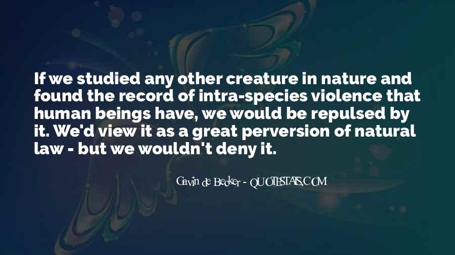 Gavin De Becker Quotes #1461915