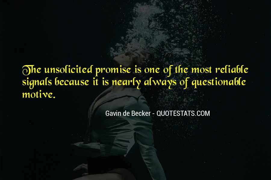 Gavin De Becker Quotes #1463392
