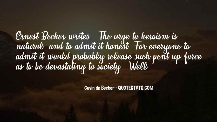 Gavin De Becker Quotes #1465761