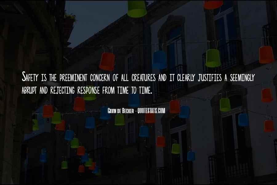 Gavin De Becker Quotes #1477639