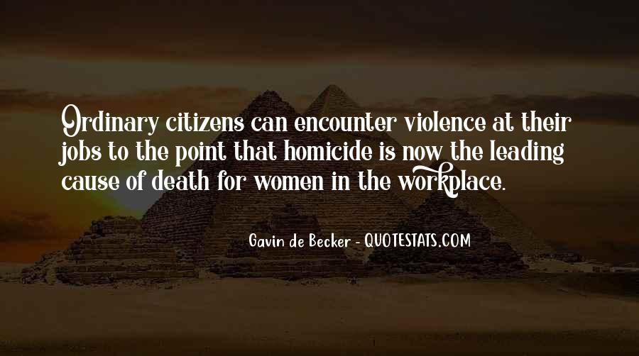 Gavin De Becker Quotes #1538341
