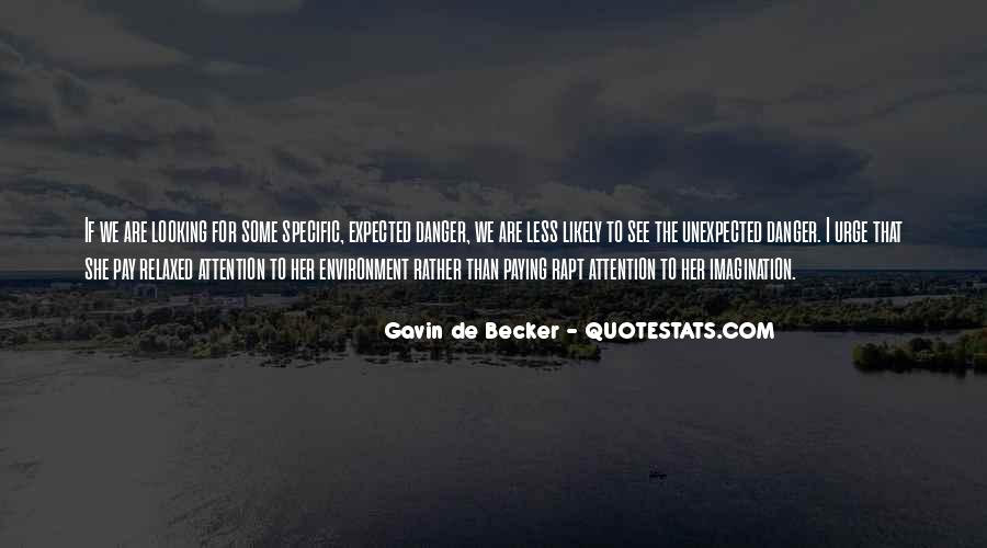 Gavin De Becker Quotes #1546431