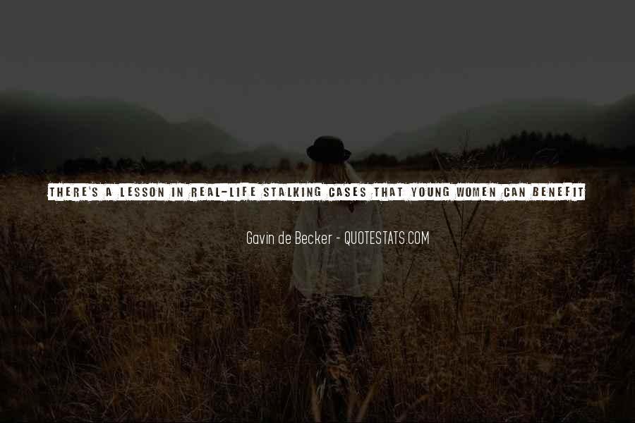 Gavin De Becker Quotes #1572225