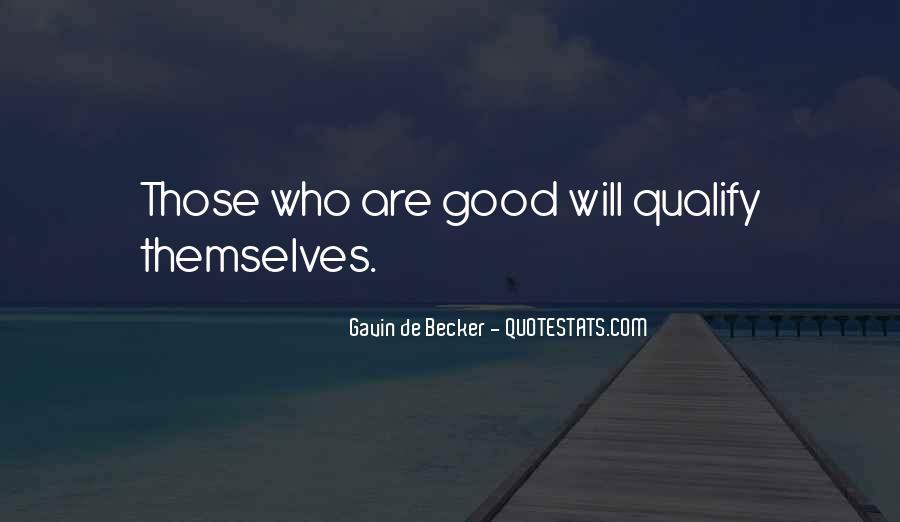 Gavin De Becker Quotes #271787