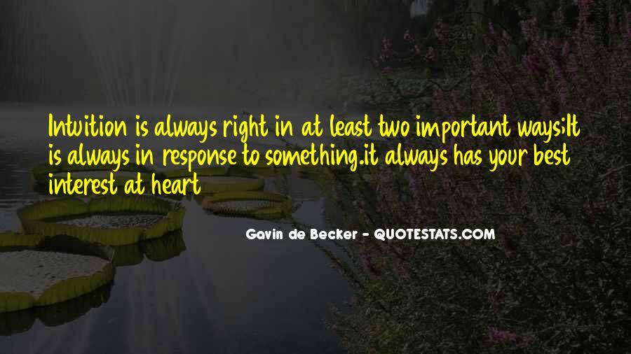 Gavin De Becker Quotes #50682