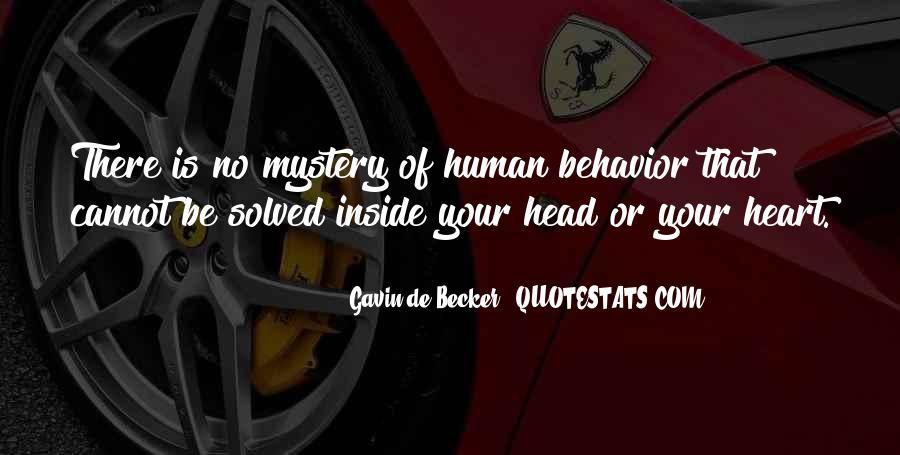 Gavin De Becker Quotes #526869