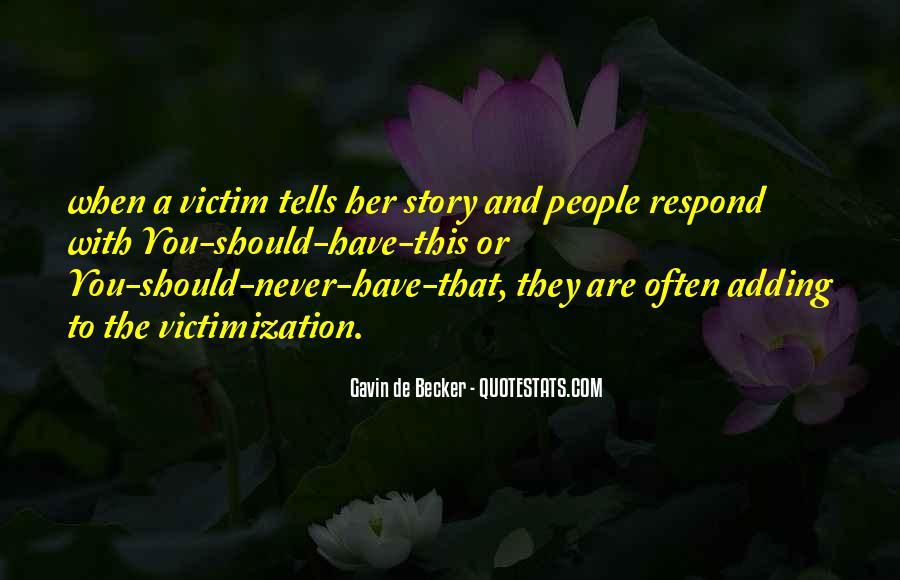 Gavin De Becker Quotes #543634