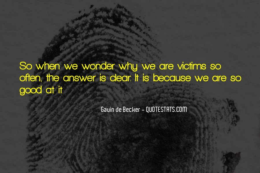 Gavin De Becker Quotes #560608
