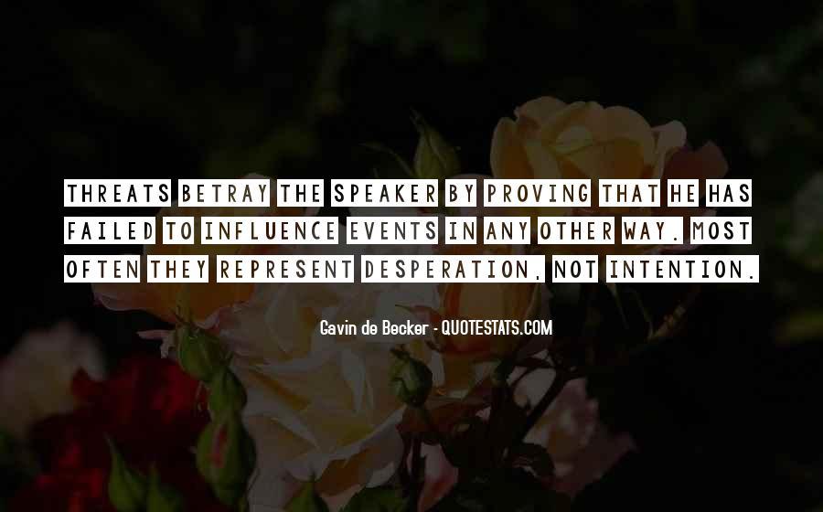 Gavin De Becker Quotes #567647