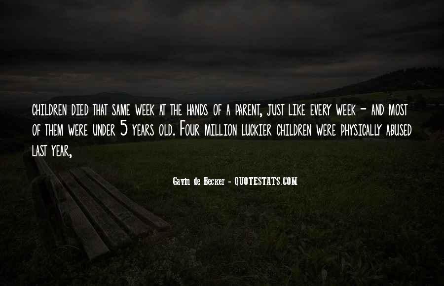Gavin De Becker Quotes #569847