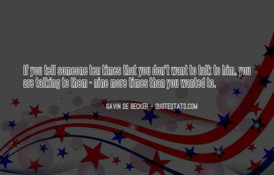 Gavin De Becker Quotes #731603