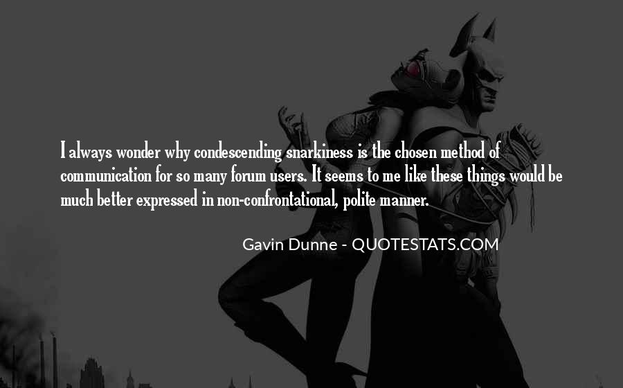 Gavin Dunne Quotes #899201