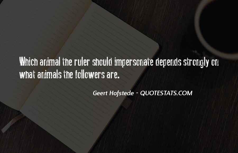 Geert Hofstede Quotes #1724475