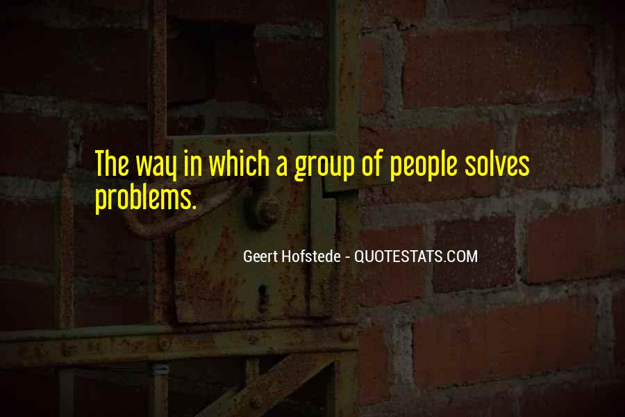 Geert Hofstede Quotes #295856