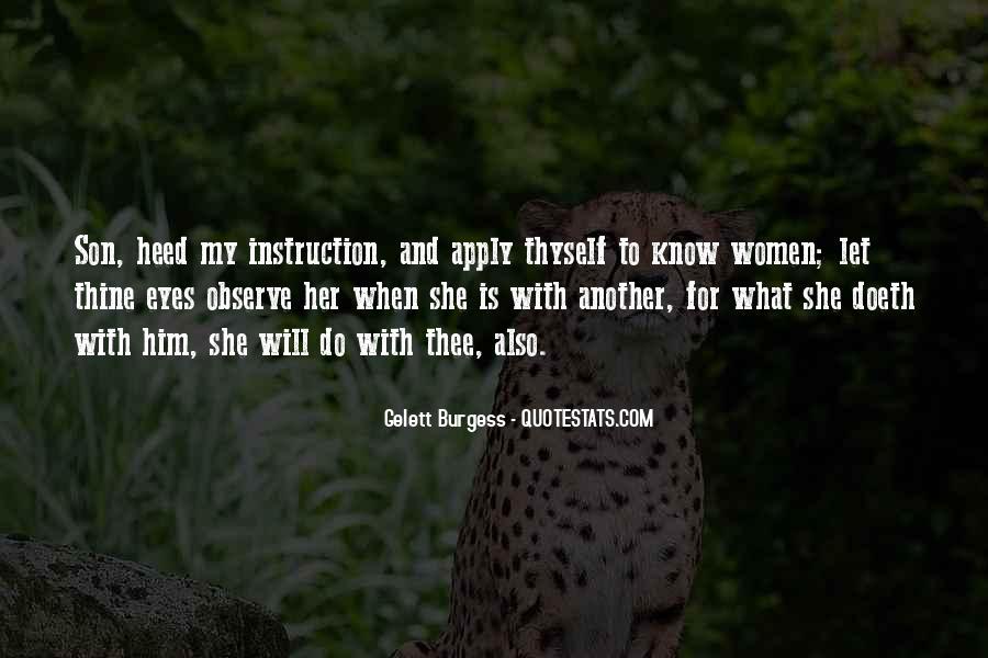 Gelett Burgess Quotes #709903