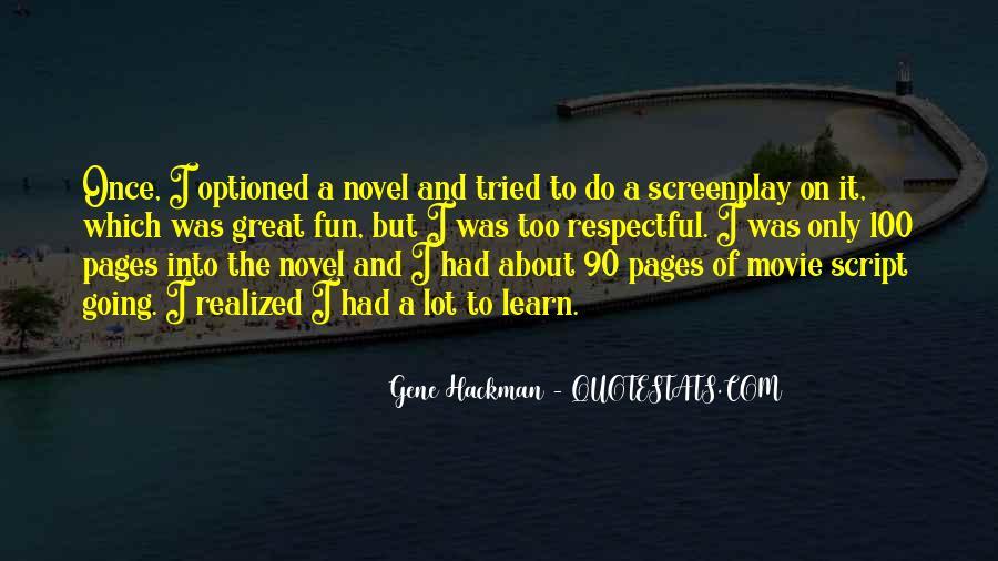 Gene Hackman Quotes #688574